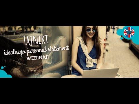 personal statement na studia w anglii