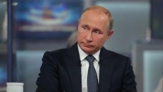 Прямая линия с Владимиром Путиным 2019. ОНЛАЙН-ТРАНСЛЯЦИЯ