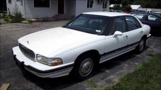 1995 BUICK LESABRE 3800 V6 Start Up, Walk Around and Review