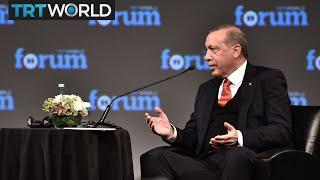 Cover images TRT World Forum: Erdogan calls for reform to global order