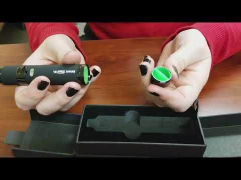 Yocan Evolve Plus XL Midnight Edition Wax Vape Pen Kit Unboxing