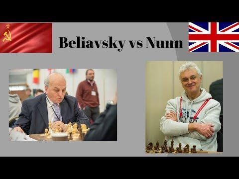 Alexander Beliavsky vs John Nunn