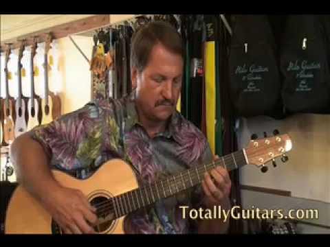 Learn Hula Blues (Open G) slack key acoustic guitar lesson Preview