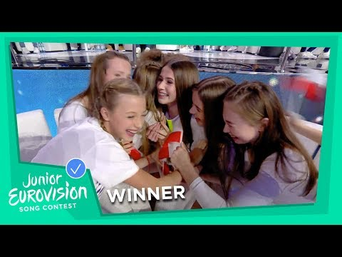 Roksana Węgiel from Poland 🇵🇱 wins the 2018 Junior Eurovision Song Contest!