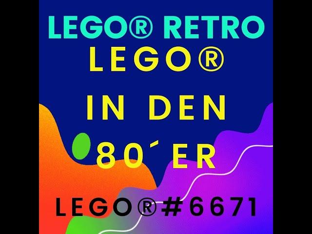 LEGO ® classic deutsch - LEGO ® Retro 6671