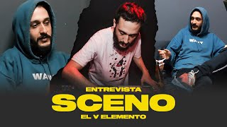 """SCENO """"Teníamos 30 temas grabados de PRESIDENTE y NINGUNA colaboración""""   EL V ELEMENTO"""