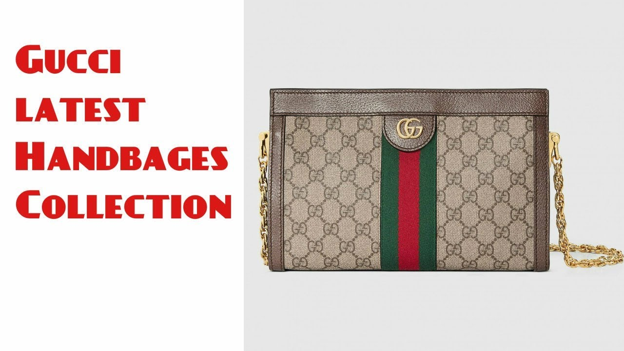 1cff29f7e Gucci latest Collection Shoulder Bags 2018 _ GUCCI WOMEN BAGS | NEW ARRIVAL  GUCCI BEGS COLLECTION