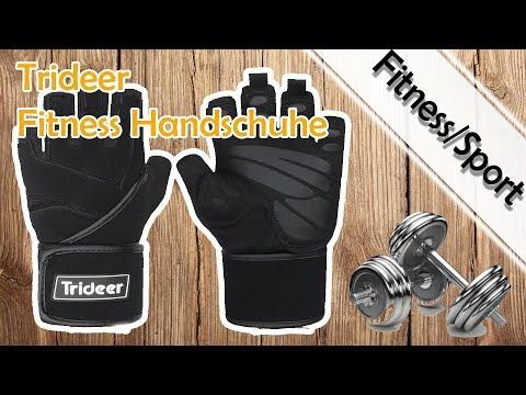 Fitness Handschuhe Von Trideer Mit Handgelenkstütze Im Test 2017 | Gut Und Günstig
