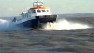 Blyth 14 metre Windfarm Catamaran Launch