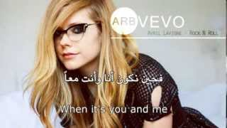 Avril Lavigne Rock N Roll أيفرل روك آند رول مترجمة YouTube