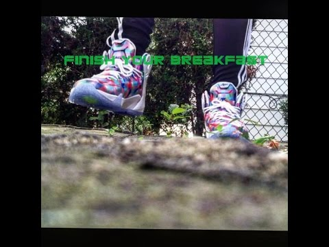 sports shoes 9fd30 99f95 Lebron 12 finish your breakfast (review)