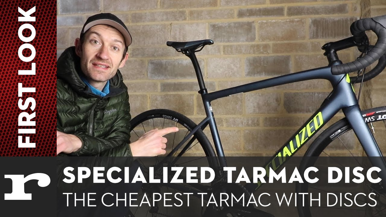 First Look - Specialized Tarmac Disc Sport