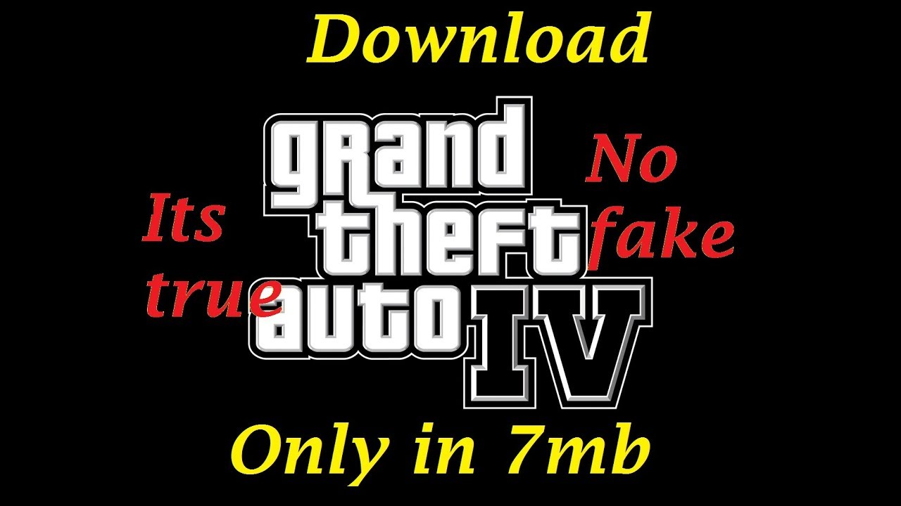 gta iv highly compressed 100 working 32mb