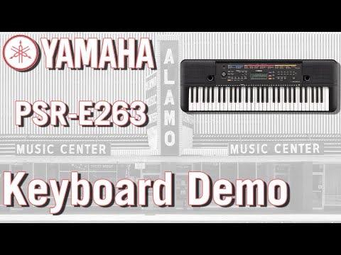 Yamaha PSR-E263 Demo