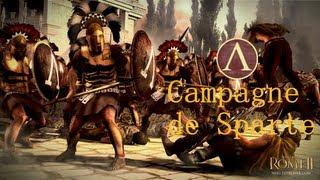 Sparte... Le Renouveau!!!- Total War: Rome II - Episode 1