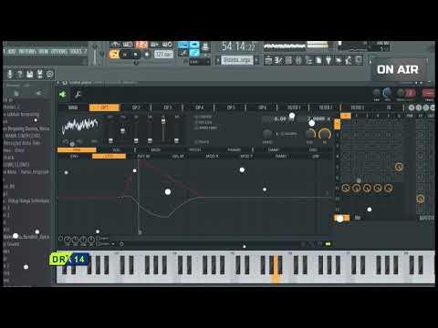 Instrumental FL Studio - BIDADARI SURGAKU (Grand Piano)
