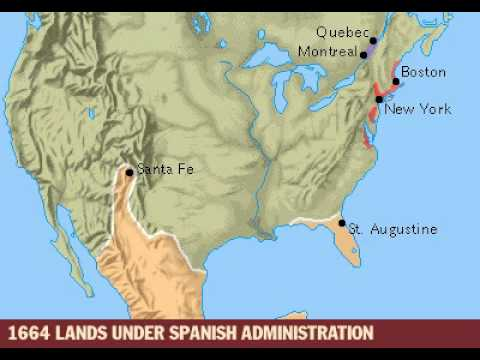 Colonial America 1497- 1763.mp4 (Grolier Multi-media Map)