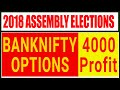 2018 Assembly Elections BANKNIFTY OPTIONS TRADING Strategy | Low Investment Maximum Profit