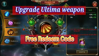 FREE CODE APRIL 2018 & UPGRADE ULTYMA WEAPON   LEGACY OF DISCORD