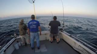 2016-07-31 Lake Michigan Salmon Fishing