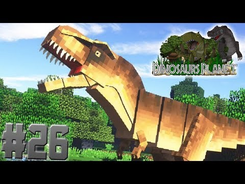Dinosaurs Back in Minecraft!!!-Minecraft Dinosaurs Planet Ep. #26
