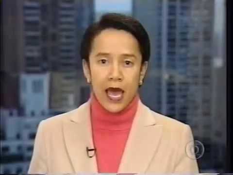 Jornal Nacional - Queda do vôo 587 da American Airlines em NY (12/11/2001)