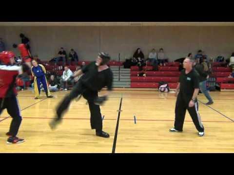 M.A.S.K. Fundraiser 2012 Tournament Black Belt Men's Grand Champion Sparring - Sensei Gage Hanlon