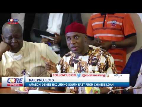 AMAECHI ON EASTERN RAIL LINES....watch & share...!