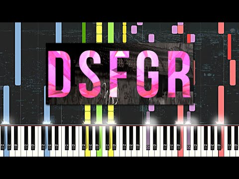 Impossible Piano Remix: Disfigure - Blank (Synthesia)