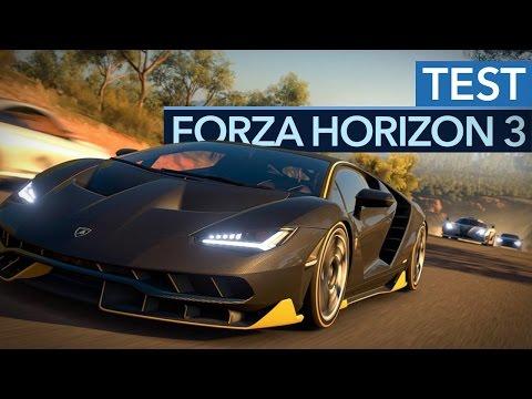 Forza Horizon 3 - Test-Video Zum Besten Rennspiel Des Jahres