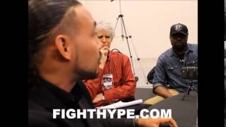 KEITH THURMAN EXPLAINS WHY HE DESERVES A FLOYD MAYWEATHER SHOT: