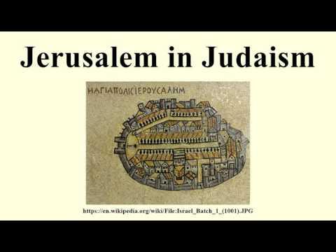 Jerusalem in Judaism