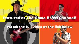 Persona 4 Golden: Let's Hit the Beach - @The Game Brass ft. String Player Gamer