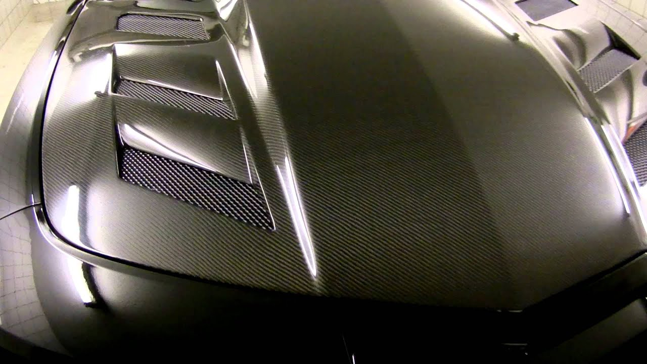 Camaro Ss With Vis Carbon Fiber Hood Mov Youtube