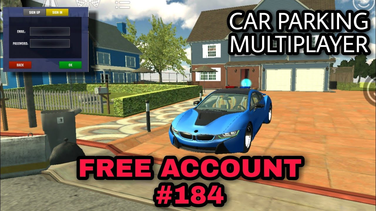 Free Account 184 Car Parking Multiplayer Your Tv Giveaway Youtube