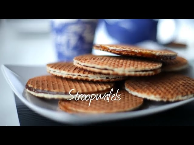 Stroopwafel Recipe How To Make Stroopwafels Youtube