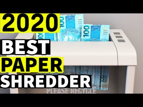 BEST PAPER SHREDDER 2020 - Top 10