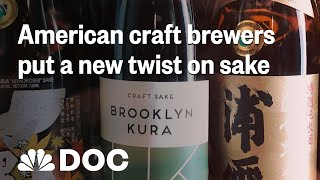 Is Craft Sake Going To Take A Seat At The Table? | NBC News