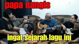 kota - #iwan fals & #dama gaok (Akustikan Silaturahmi) - Om iwan Fals & Team jenguk papa kerumah.