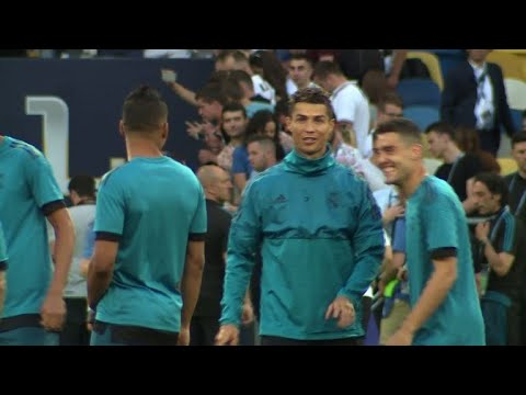 Liverpool and Real Madrid prepare for Champions League final