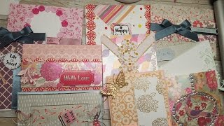 10 cards 1 kit Crafty Ola 39 s Card Kit of the Month May 39 17 39 39 Painted Blooms 39 39