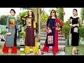 Designer Long Party Wear ,Stylish Fancy Long Double Layer Kurti Kurta For women's|Trendy India 27