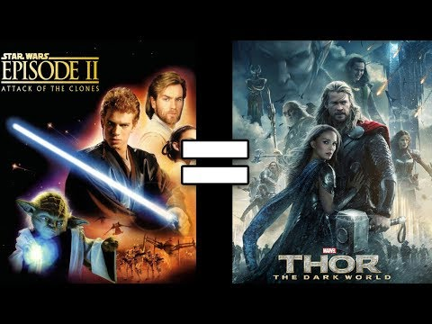 24 Reasons Star Wars Ep. II Attack of the Clones & Thor The Dark World Are The Same Movie