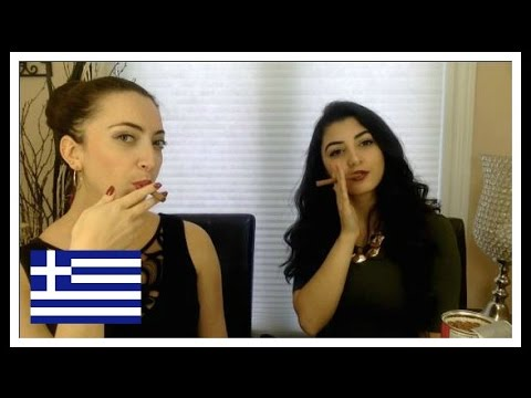 Canadians try Greek Candy