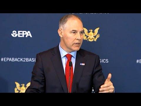 EPA To Scrap Fuel Efficiency Rules