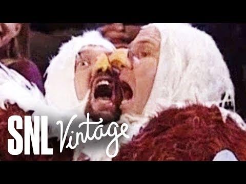 Bald Eagle Fight - SNL
