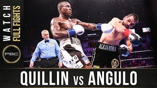Quillin vs Angulo Full Fight: September 21, 2019 - PBC on FS1