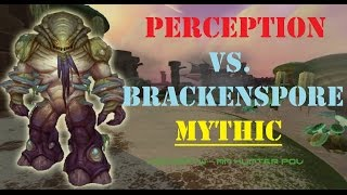 Perception vs Brackenspore MYTHIC - MM Hunter PoV