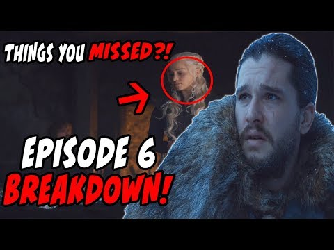 Things You MAY Have Missed?! Game Of Thrones Season 7 Episode 6 BREAKDOWN