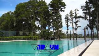 Glass Pool Fence With A Modern Contemporary Style. Orlando Tampa Daytona Miami Florida.